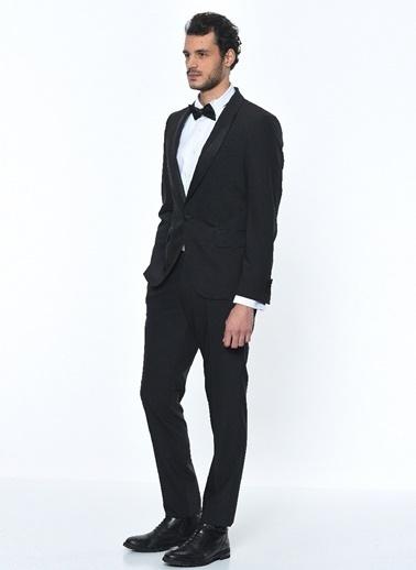 Fabrika Erkek Siyah Takım Elbise Smokin 3042043 Siyah